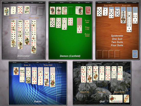 Screenshot #5 for Solitaire City (Free)
