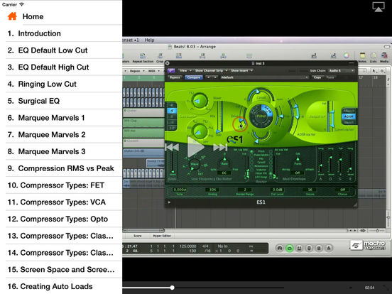 Logic's Electronica Workflow Tricks iPad Screenshot 2