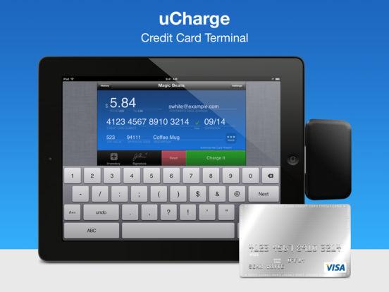 uCharge: Accept Credit Cards iPad Screenshot 1