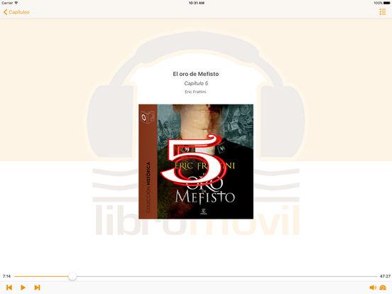 El Cristo de la Calavera - Audiolibro iPad Screenshot 2
