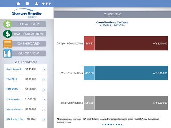 Discovery Benefits Mobile iPad Screenshot 4