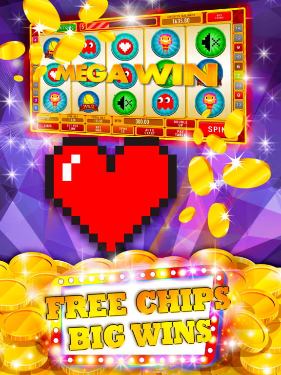 8bit Slot Machine: Play artificial gambling games-ipad-0