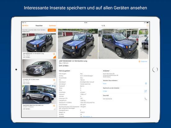 AutoScout24 – Online-Plattform für Occasionen und Neuwagen in der Schweiz iPad Screenshot 3