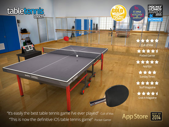 Table Tennis Touch Screenshots