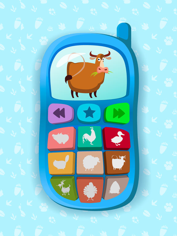Baby Phone - Educational Sound Game for Toddlersscreeshot 1