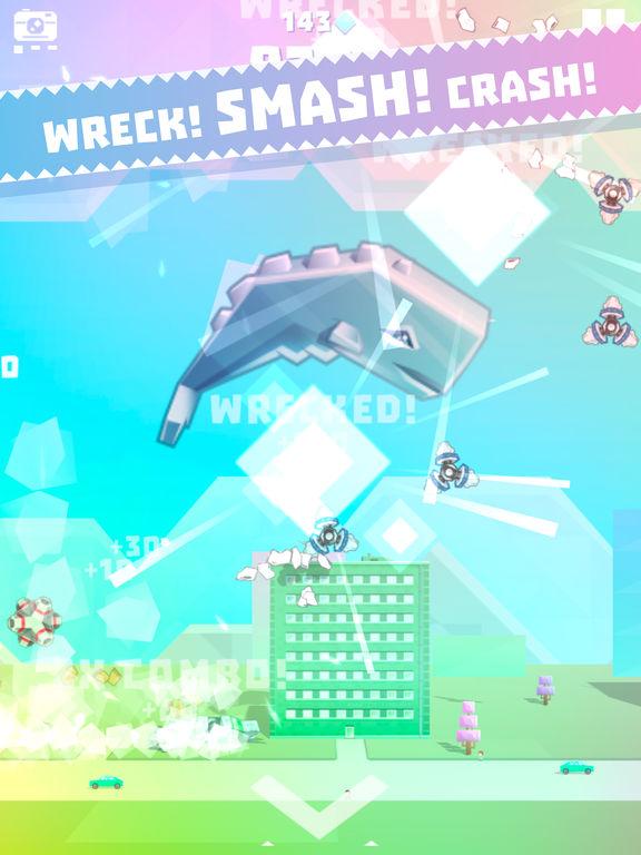 Ookujira - Giant Whale Rampage screenshot 6