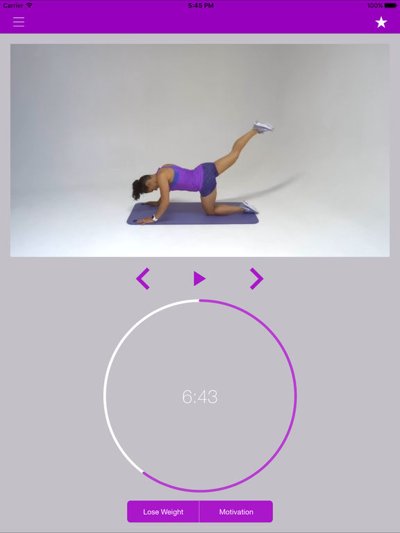 7 min Brazilian Glutes Workout to Get Bubble Butt Screenshots