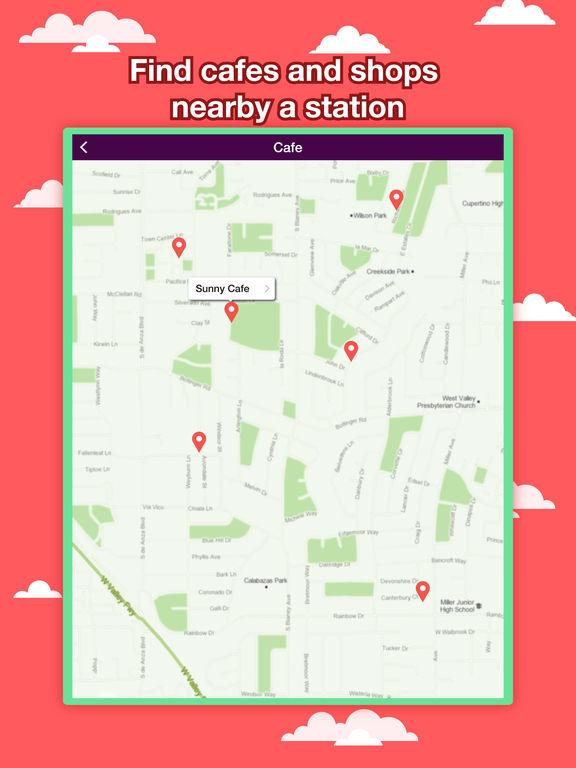 Philadelphia Transport Map - Rail Route Planner Screenshots