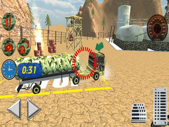 Off Road Army Oil Truck Drive screenshot 6