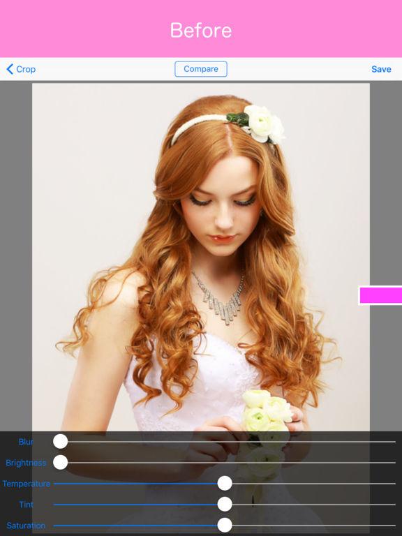 Soft Focus〜beautiful portrait, beauty skin effect Screenshots