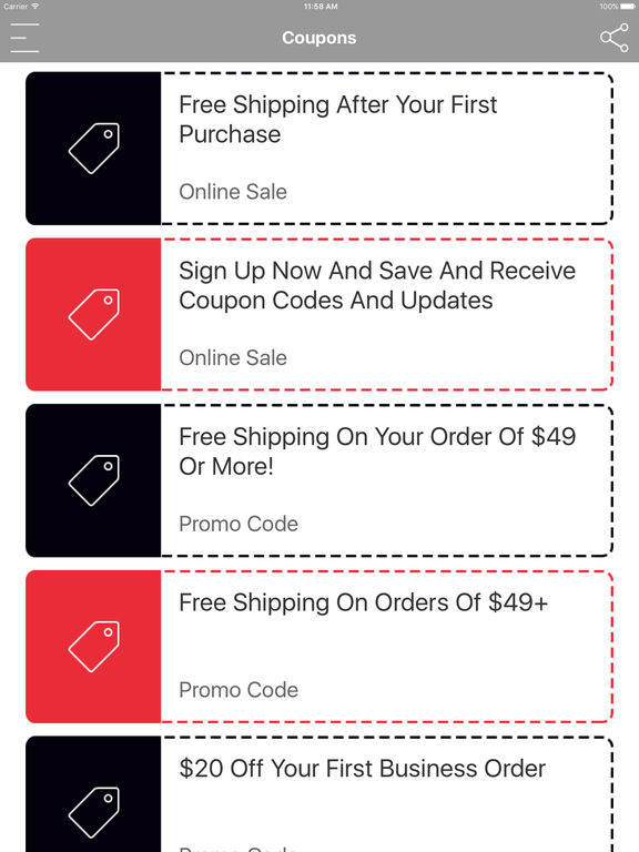 App Shopper Coupons For Shop World Kitchen Discount Shopping