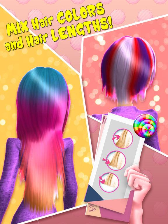 App shopper hair salon makeover games 3d virtual for 3d beauty salon games