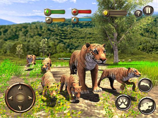 Игра Жизнь дикий тигр - Джунгли история выживания