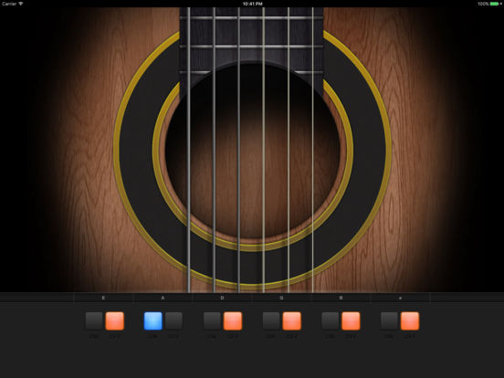 Guitar Tuner HD iPad Screenshot 1