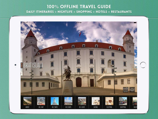 Bratislava Travel Guide iPad Screenshot 1