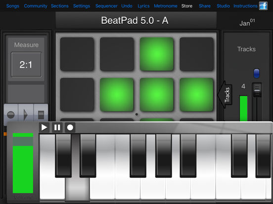 BeatPad iPad Screenshot 3