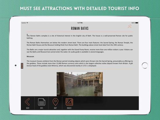 Bath Travel Guide iPad Screenshot 3