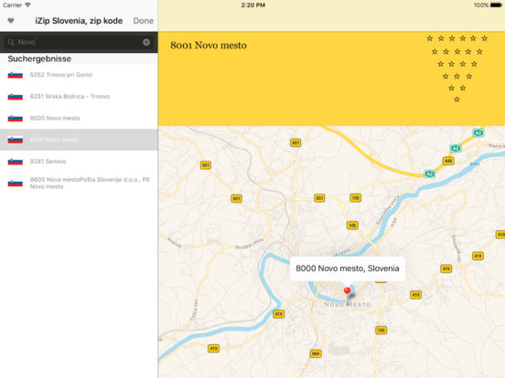 izip Slovenia iPad Screenshot 3