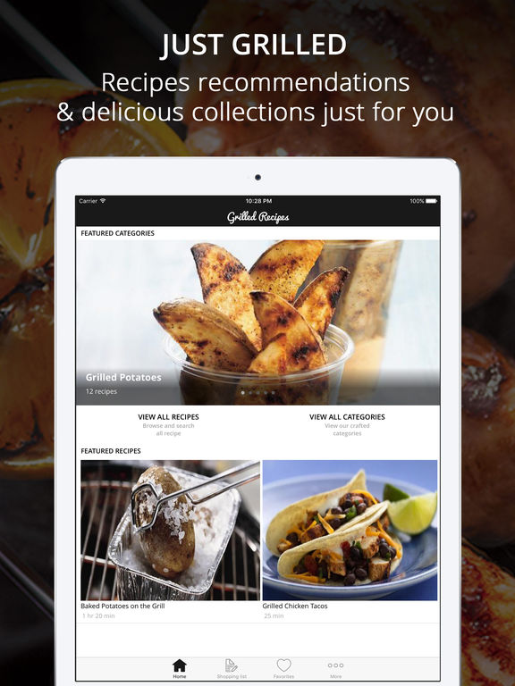 Just Grilled Recipes Pro - Cook And Learn Guide Screenshots