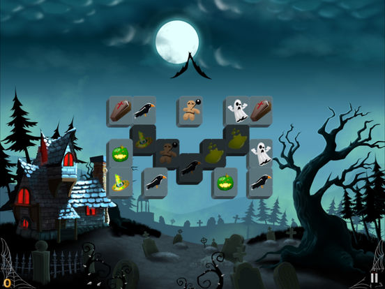 Mahjong Trick or Treat Screenshots