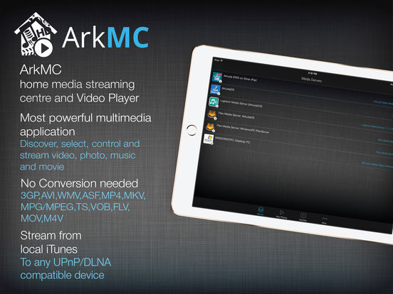 ArkMC iPad Screenshot 1
