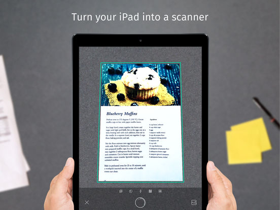 Scanner & QR-Code Reader App - Scanbot scans your document, photo, barcode and notes screenshot