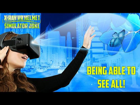 Рентген VR Шлем Симулятор Шутка на iPad