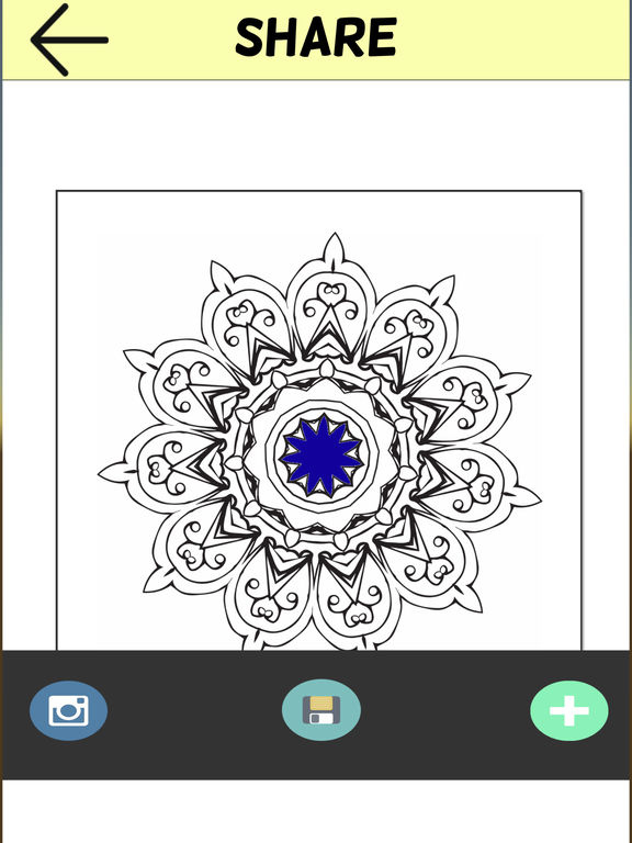 App Shopper Adult Mandala Coloring Book Therapy Stress