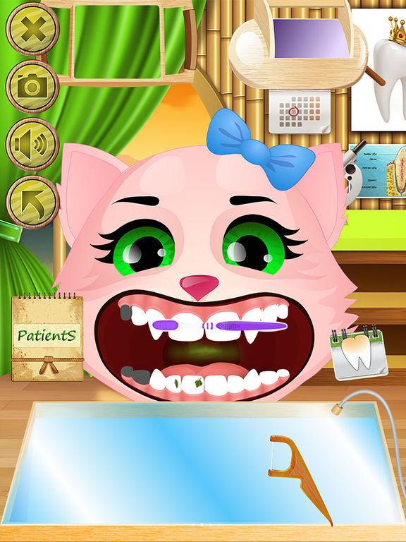 Animal Dentist - Little Baby Pet Doctor Kids Gamesscreeshot 3
