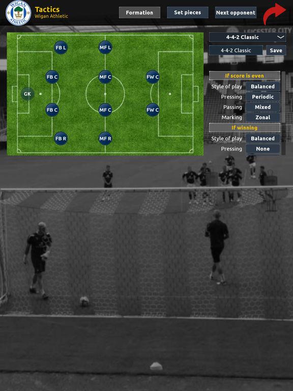 Association Football Manager Screenshots