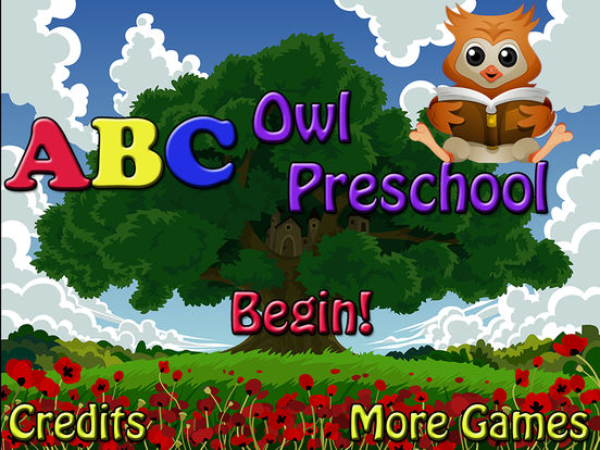 ABC Owl Preschool! iPad Screenshot 1