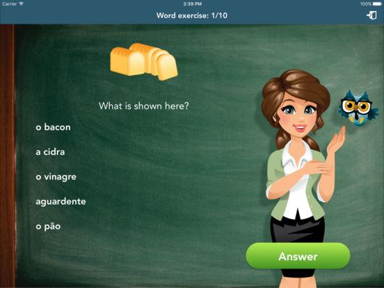 Portuguese Class iPad Screenshot 3