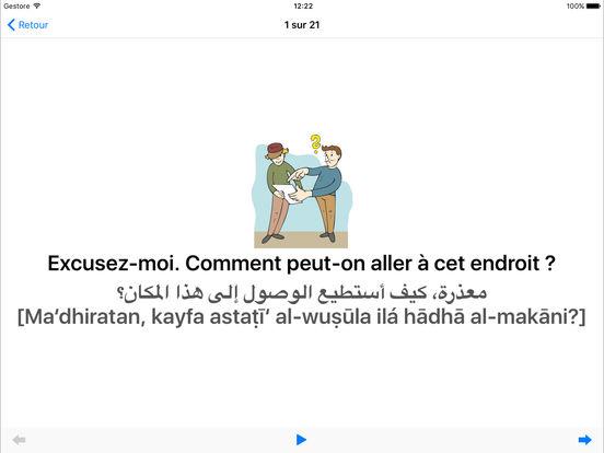 Coach linguistique iPad Screenshot 4