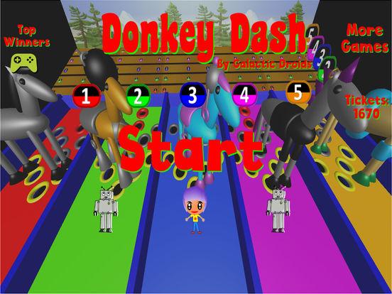 Donkey Dash Derby Pro screenshot 9
