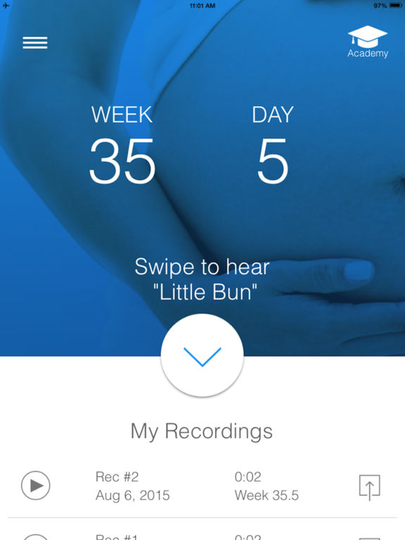 BabyScope - Listen to fetal heartbeat sound screenshot