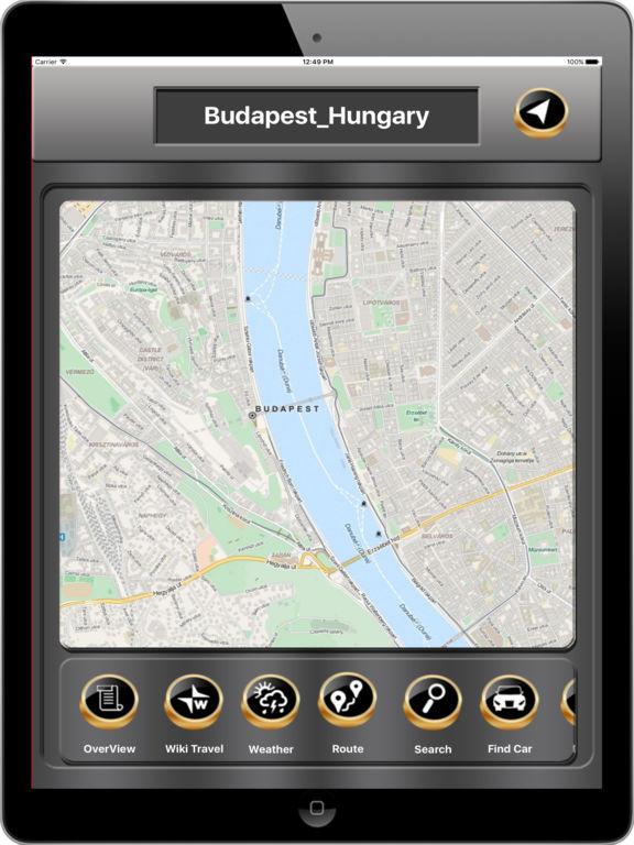 Budapest_Hungary Offline maps & Navigation Screenshots
