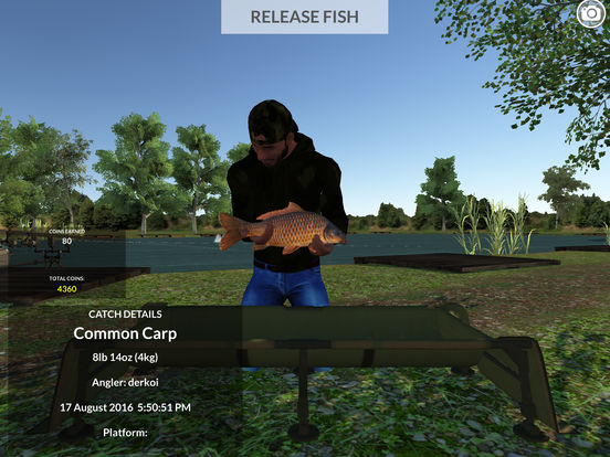 Carp fishing simulator by steven cawood for Carp fishing games