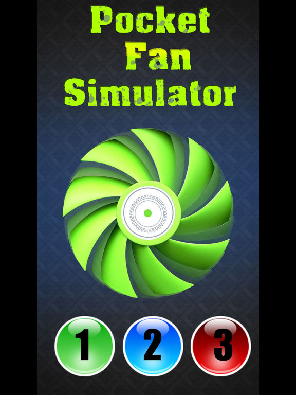 Карманный Вентилятор Симулятор на iPad
