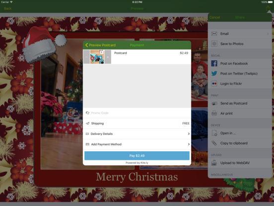 Christmas Lifecards iPad Screenshot 2