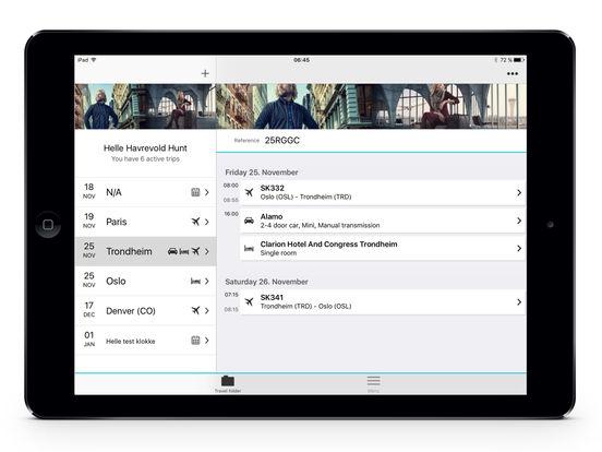Berg-Hansen iPad Screenshot 2