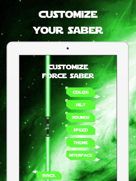 Force Saber of Light screenshot