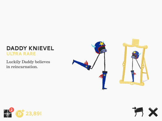 Screenshots of Daddy Long Legs for iPad