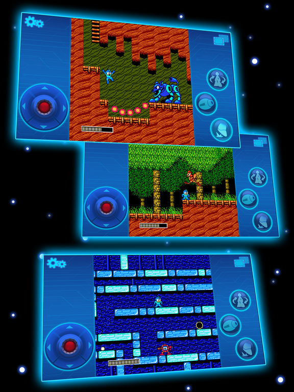 MEGA MAN 2 MOBILE Screenshots