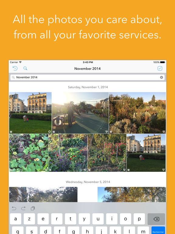 Sunday - Rediscover your scattered photos Screenshot