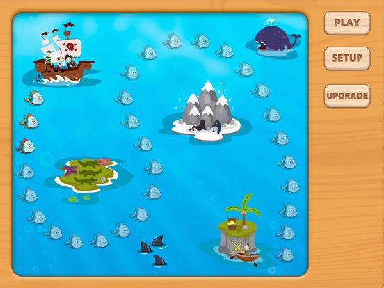Adventures UnderSea Subtraction Game iPad Screenshot 4