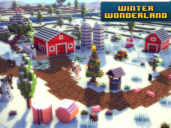 Blocky Roads Winterlandscreeshot 4