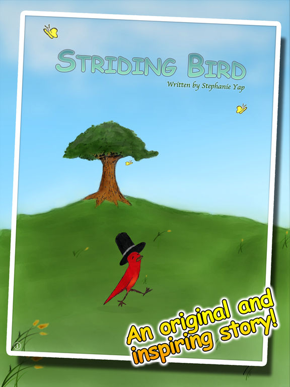 Striding Bird - An inspirational tale for kids Screenshots