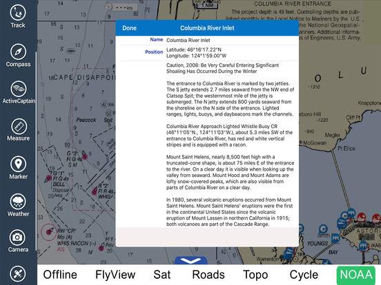 Marine: Oregon - Washington HD iPad Screenshot 4
