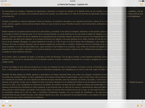 La Palma Del Cacique, Leyenda Histórica de Puerto Rico iPad Screenshot 1