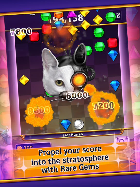 Screenshots of Bejeweled Blitz for iPad